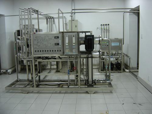 2吨医药不锈钢高纯水设备