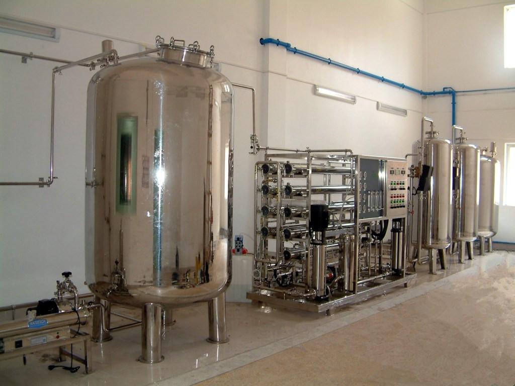 10吨全不锈钢食品行业纯水设备