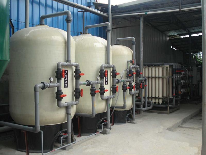 200吨电力锅炉软化水设备