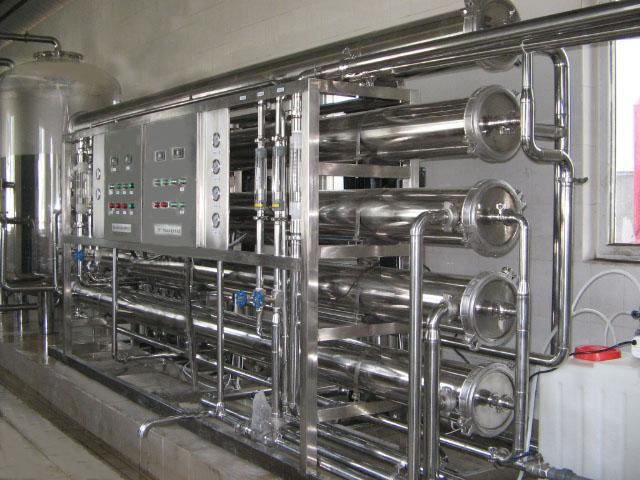 15吨全不锈钢管道直饮水设备